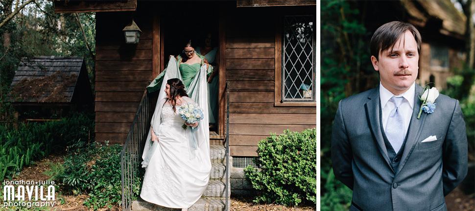 11-Lichgate-on-High-Road-Tallahassee-Florida-Wedding-Bride-Groom-First-Look.jpg