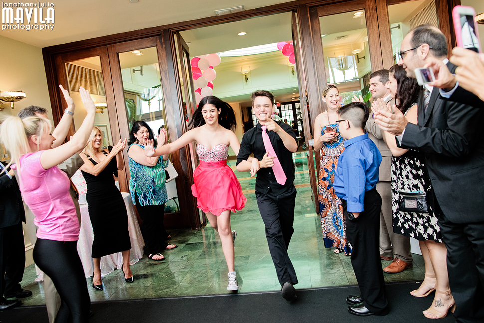 09-Mavila-Photography-Shenassa-Bat-Mitzvah-Weston-Hills-Entrance.jpg